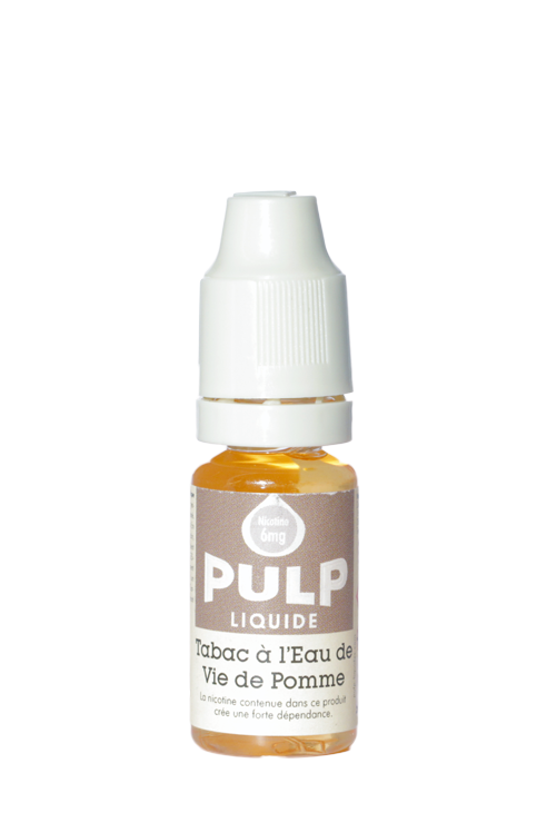 E-liquide Tabac eau de vie Pulp