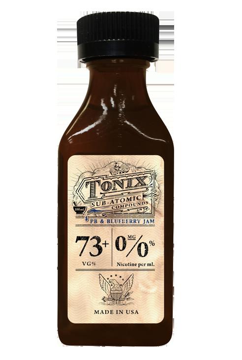 E-liquide Tonix Pb & Blueberry Jam
