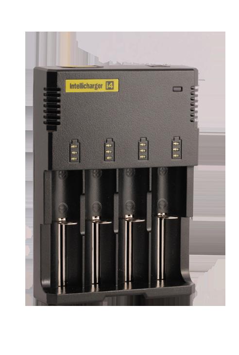 Chargeur Nitecore I4- Cigarette électronique