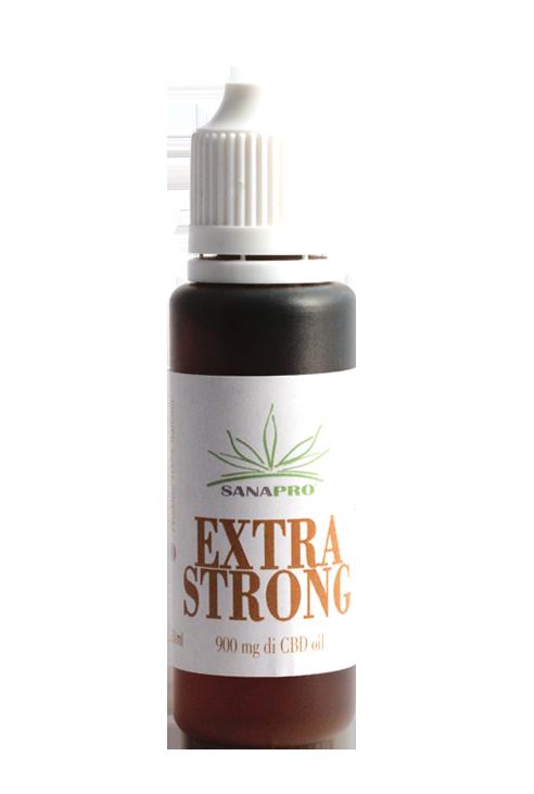 E-liquide CBD - Extra Strong - Sanapro