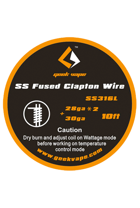 SS Fused Clapton Wire - Geekvape