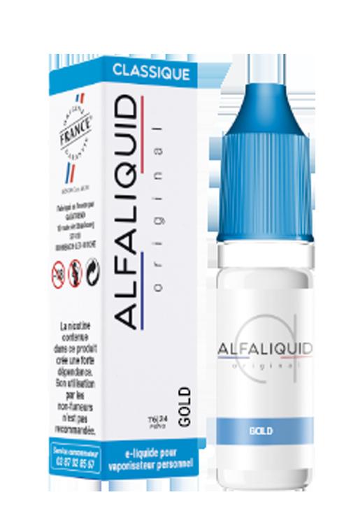 E-liquide Tabac Gold Alfaliquid