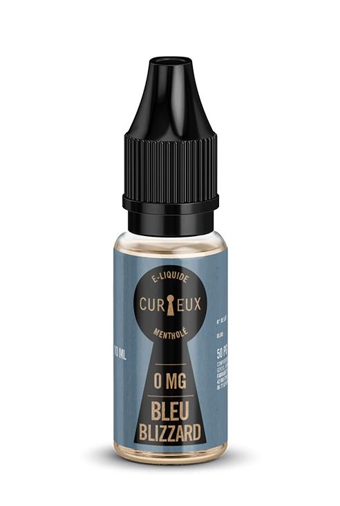 E-liquide Bleu Blizzard - Curieux E-liquides