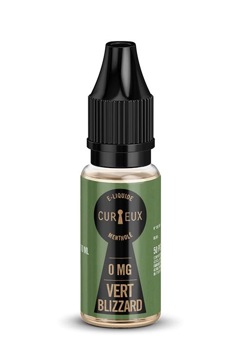 E-liquide Vert Blizzard - Curieux E-liquides