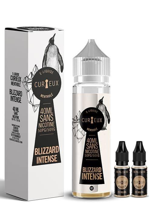 e-liquide Blizzard Intense - Curieux eliquides