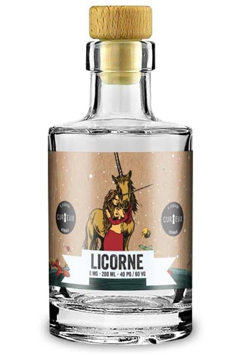 E-liquide Licorne 200ml - Curieux Astrale
