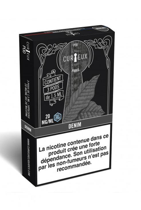 Cartouches pour pod Curieux eliquides