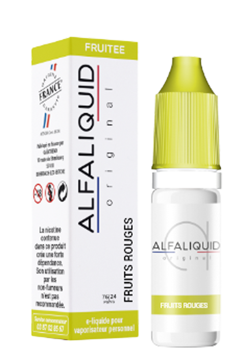 e-Liquide Fruits Rouges - Alfaliquid