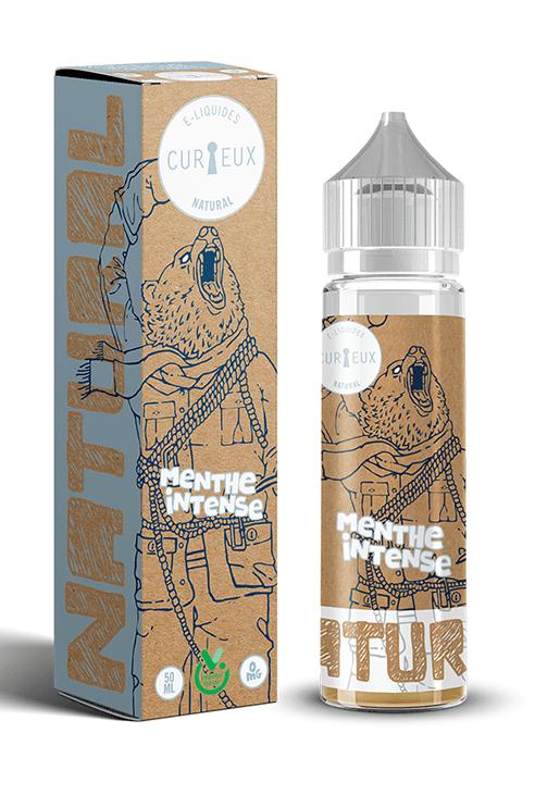 E-liquide Natural Menthe Intense 50ml - Curieux E-liquides